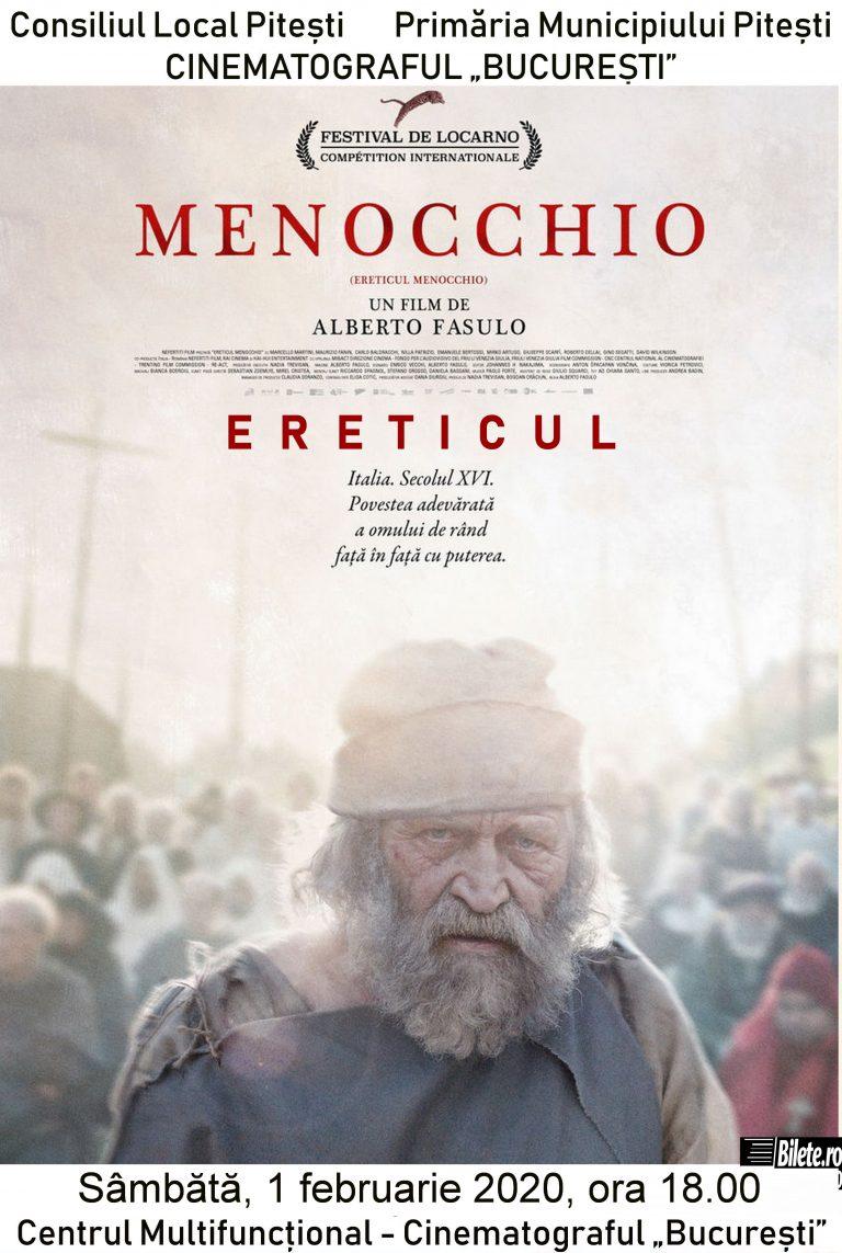 """""""Menocchio"""" și """"Examen"""" – filmele acestui week-end la Cinematograful """"București"""""""