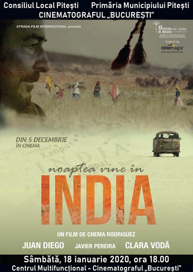 """""""Noaptea vine în India"""" și """"Dincolo de calea ferată"""",  filmele acestui weekend de la Cinematograful """"București"""""""