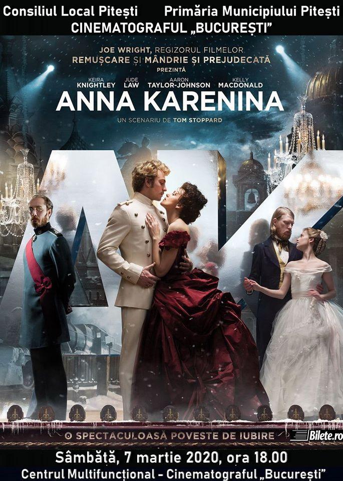 """""""Anna Karenina"""" și """"Urma"""" – filmele acestui week-end la Cinematograful """"București"""""""
