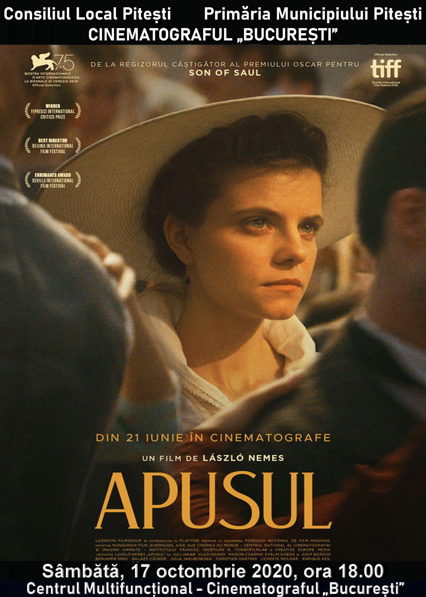Apusul - afiș cinema