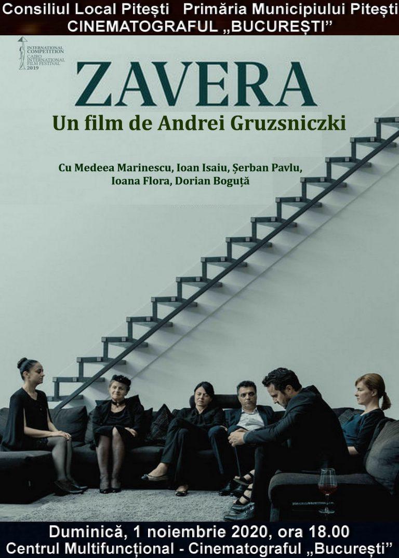 Zavera, film românesc în regia lui Andrei Gruzsniczki