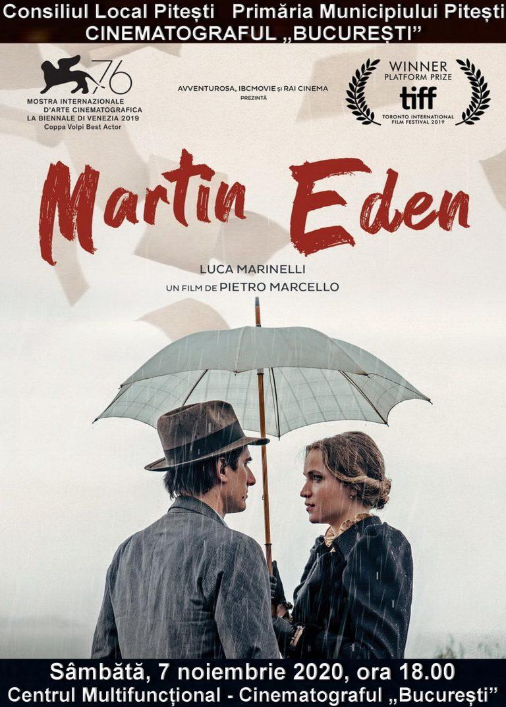 Martin Eden, adaptare a celebrului roman al lui Jack London