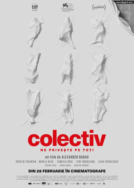 colectiv poster film pitești